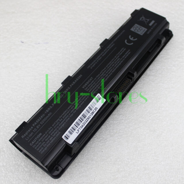 Laptop Battery for TOSHIBA Satellite PA5024U-1BRS PABAS260 C850 C850D 5200mAh