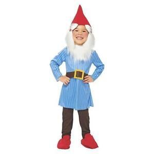 NEW-GARDEN-JOLLY-GNOME-GNOMEO-ELF-HALLOWEEN-COSTUME-Child-Toddler-2T-3T