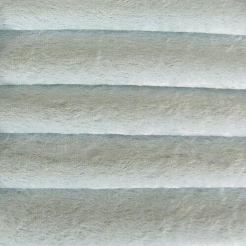 "1//6 yd VIS1 Soft Blue INTERCAL 6mm /""Flat/"" Med Dense German Viscose Fur Fabric"