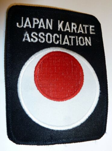 ex karate embroidered badge//patches showroom samples Clearance Offer