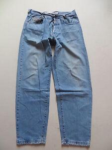 Diesel-Saddle-Jeans-Hose-W-33-L-34-EXTREM-abgetragen-starke-Gebrauchsspuren