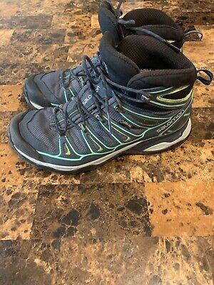 Salomon Women's X Ultra 2 GTX W Hiking Shoe TURQUOISE Size yfCWJ