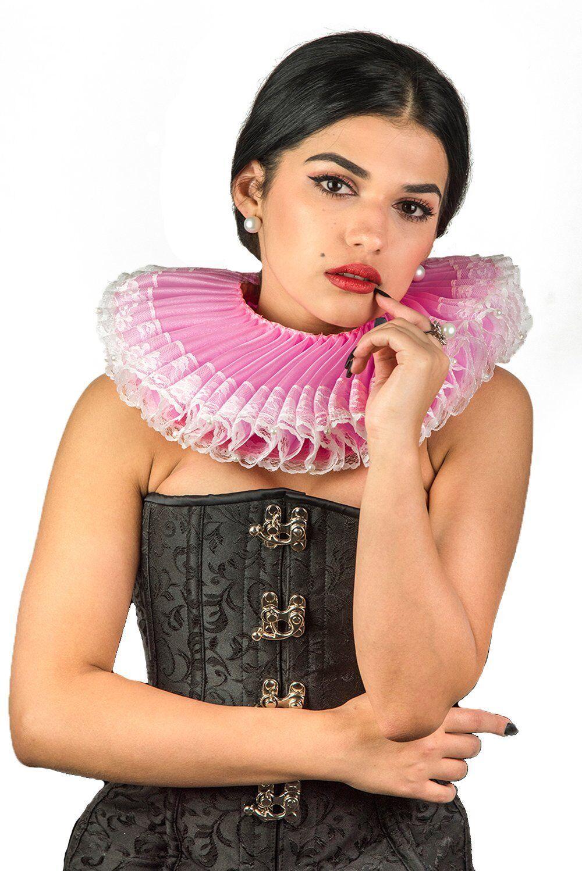 Elizabethan Collar Renaissance Fancy Antoinette Costume Tudor Ruff Accessories