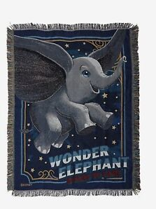 DISNEY-DUMBO-TAPESTRY-THROW-BLANKET-Live-Action-Film