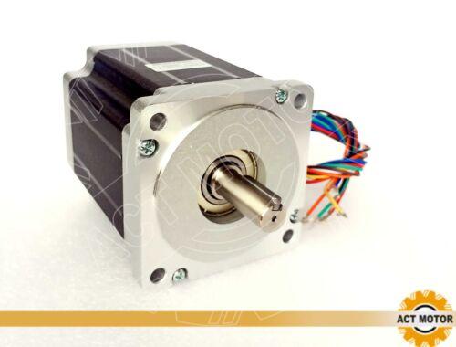 Act motor GmbH 1pc nema 34 stepper motor 34hs1842d12.7l32j5-1-t 116mm 5.88a 8.4nm