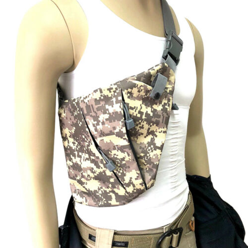 New Fashion Unisex Sling Outdoor Over Shoulder Crossbody Chest Bag Gun Storage