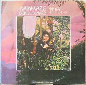 DEKE LEONARD Kamikaze LP Solo 1970s Rock Album by MAN guitarist