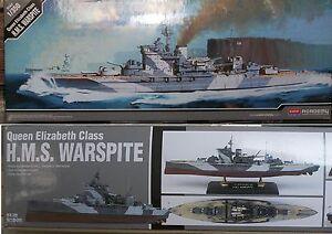 Academy 1/350 HMS Warspite, classe Queen Elizabeth, nuova - Italia - Academy 1/350 HMS Warspite, classe Queen Elizabeth, nuova - Italia