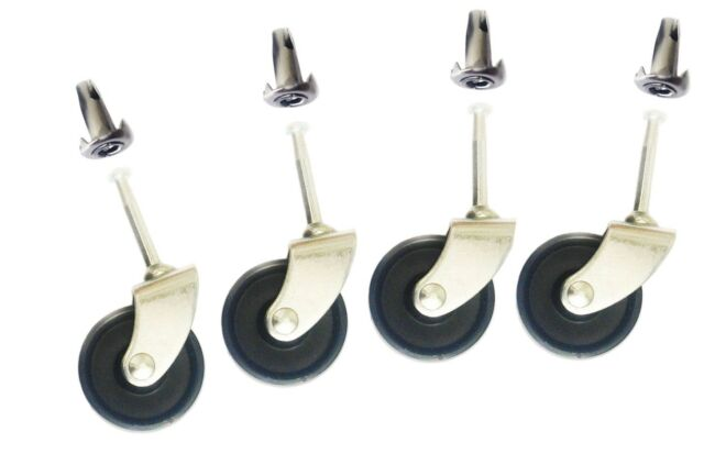 NEW High Quality Castor Wheels For Divan Beds, Sofas & Chairs