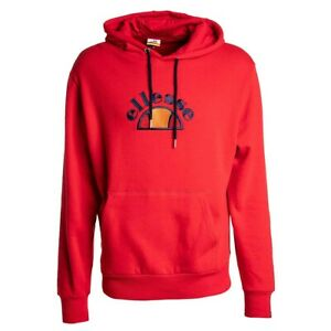 Ellesse-Arc-OH-Pull-Over-Red-Men-039-s-Hoodie-SHY05742-625-size-M-MSRP-75