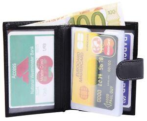 Excellanc-ECHT-LEDER-Kartenetui-Kreditkartenetui-Geldbeutel-8x10cm-Portemonnaie