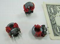 10 E & E Magnetic Elec & Eltek 4-conductor Chokes Coils Filter 832-00009 Ferrite