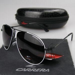 2019 Newest Pilot Fashion Men Womens Sunglasses Unisex Pilot Carrera Glasses
