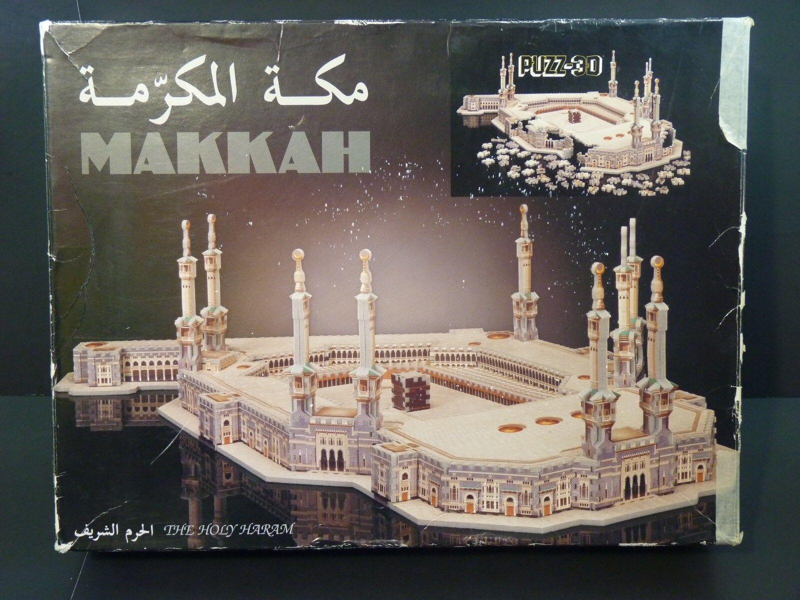 RARE  Wrebbit Puzz 3D Makkah The Holy Haram Puzzle