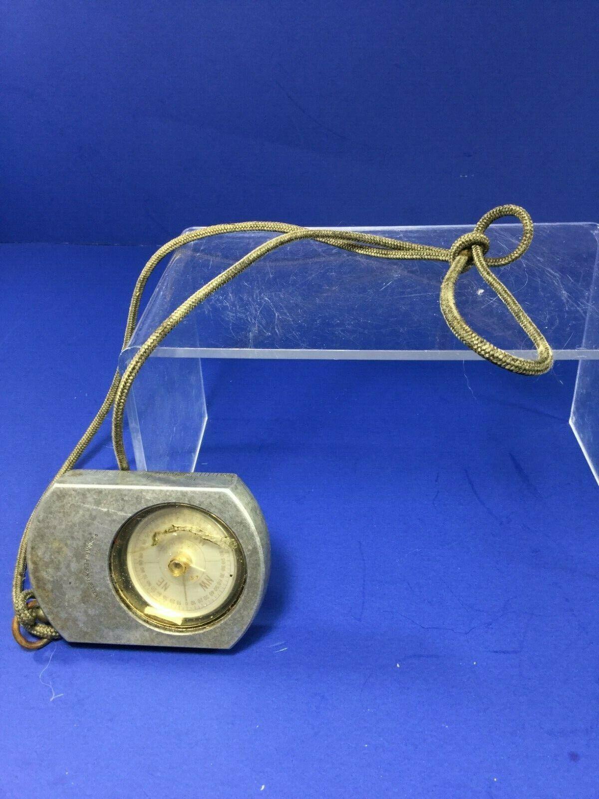 Vintage, Suunto Co. KB-14 360Q Global  Optical Sighting Compass, Helsinki Patent  free shipping worldwide