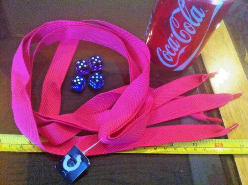 Pink Wide Shoelaces Lases Laces Flirt New Shoe