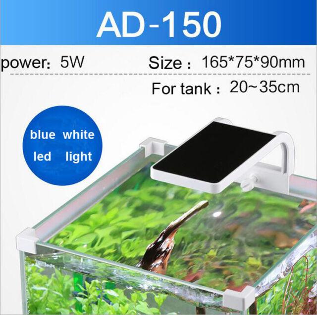 Aquarium Fish Tank Water Plant Grow Mini Nano Clip Led Light Usb
