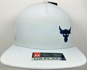 3aae959a9 Details about NWT Under Armour UA X Project Rock Vanish SuperVent Mens  Snapback Flat Bill Hat