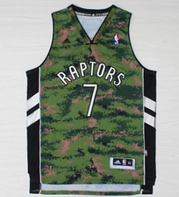 online retailer b3c05 55d89 Toronto Raptors Kyle Lowry Men's Camo Jersey Size S M L XL XXL | eBay