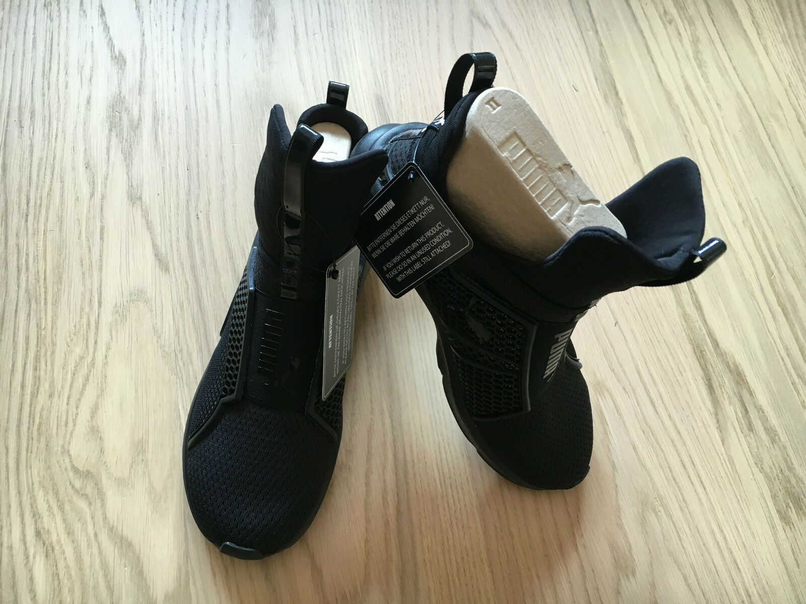 Puma X Rihanna Fenty Fierce schwarz NEW  UK5