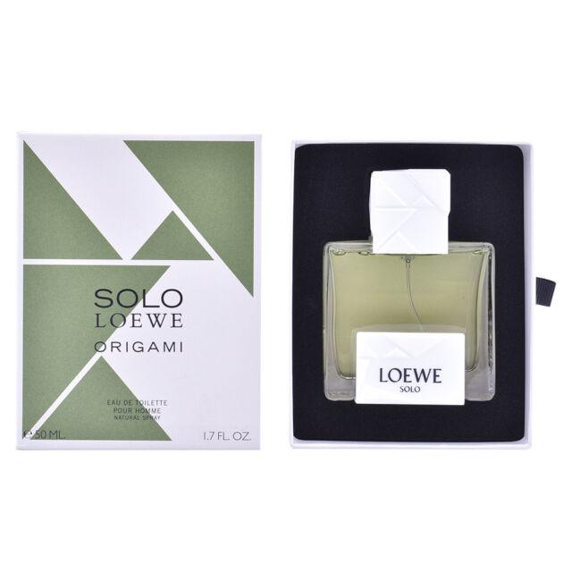 Perfume Loewe hombre SOLO LOEWE ORIGAMI edt vaporizador 50 ml