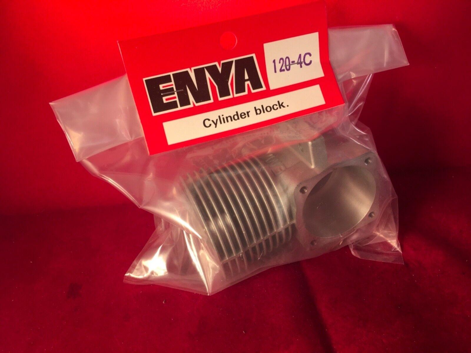 ENYA 120-4C del cárter ASSY Con Trasero BRG. nuevo en paquete
