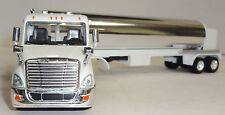Die Cast Oil Tanker Truck 1/64 Scale All Diecast Construction - Chrome Tanker