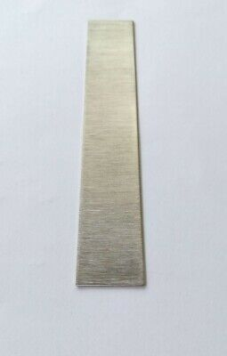 """Pure Copper 99.98/% Plate Electrode 1/""""//6/""""//0.03/"""" Sacrificial Anode Plating Sheet"""