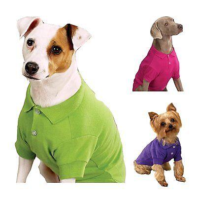 Polo Shirts for Dogs Dog Polo Shirt Zack /& Zoey Dog Polo Shirts
