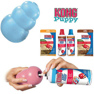 KONG-Puppy-Dog-Toy-Teething-Chew-Snack-Easy-Treat-Dispenser-Paste-Biscuit-Can