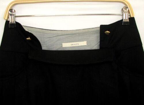 Black Wool Skirt 36 Feminine Condition Excellent Short Sessun Size wIvqwZt