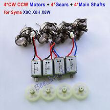 Syma X8C X8W X8HC HW RC Quadcopter Spare Parts CW CCW Motor & Gear & Main Shaft