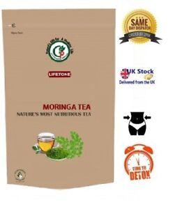 Organic Moringa Thé, Le Matin Booster, 120 Intercalaires, 240 G-afficher Le Titre D'origine Valeur Formidable