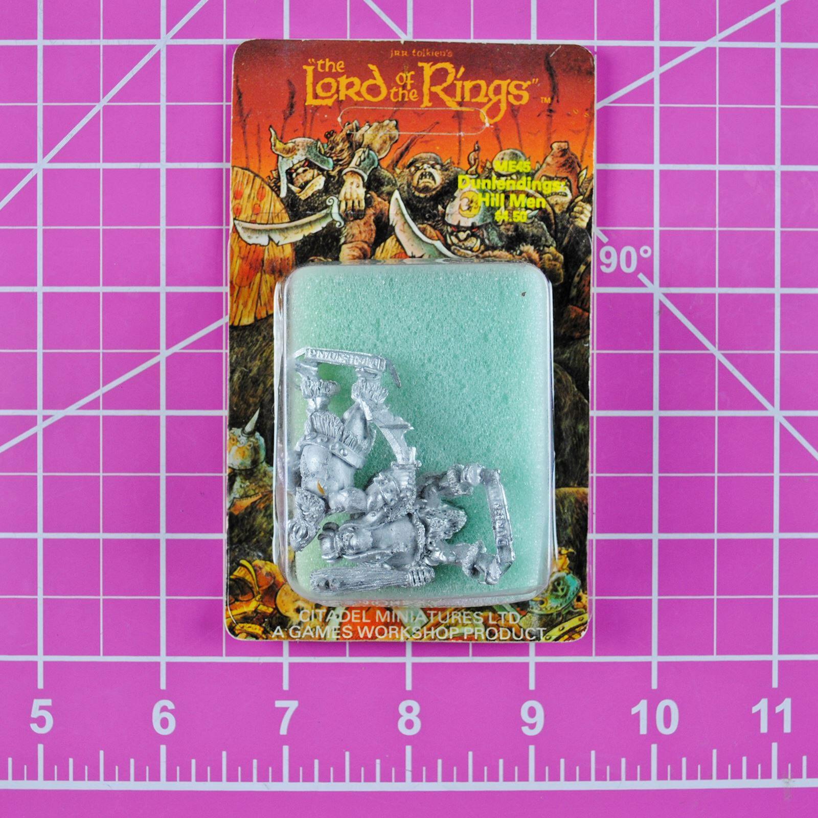 Citadel Lord of the Rings ME 44 Dunlendings Hillmen - Rare OOP LOTR Vintage ME44