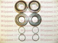 King Kutter Spindle Rebuild Kit: Bearings, Seals, Rings Free Shipping 555009