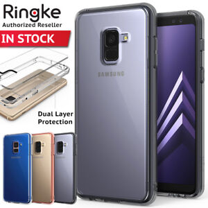 online retailer 93acf a519e Details about Samsung Galaxy A8 Plus 2018 Case shock proof Genuine RINGKE  FUSION Clear Cover