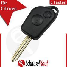 Citroen 2 Tasten Autoschlüssel Fernbedienung Picasso Berlingo Xsara Ersatz Neu