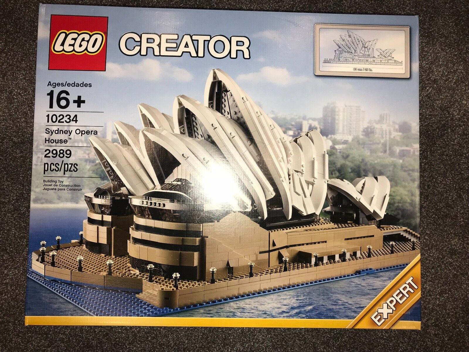 Lego 10234 Creator Sydney Opera House-NOUVEAU-Sealed-Retraité Set