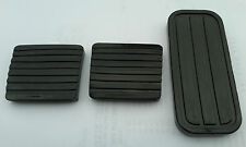 VW MK1 RABBIT BRAKE CLUTCH AND GAS PEDAL RUBBERS BLACK GTI GOLF