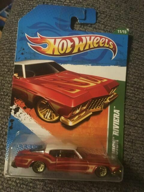 2011 Hot Wheels Treasure Hunts 1971 Buick Riviera 11 Of 15 Damaged Card For Sale Online Ebay