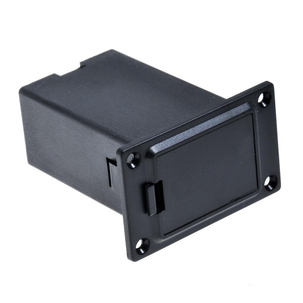 guitar battery holder case box 9v for guitar bass active pickup preamp amp 634458760669 ebay. Black Bedroom Furniture Sets. Home Design Ideas