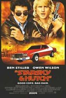 Starsky & Hutch Original D/s Int'l One Sheet Rolled Movie Poster 27x40 2004