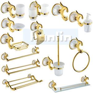 Luxury-Golden-Carved-Bathroom-Accessory-Towel-Rail-Rack-Soap-Dish-Holder-Toilet