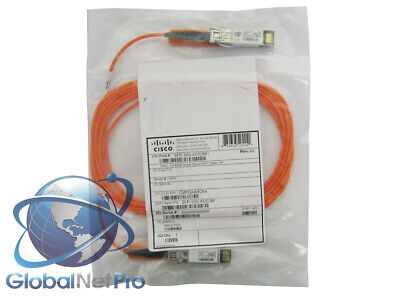 10GBASE Active Optical Cable 5M LIFET NEW SEALED GENUINE CISCO SFP-10G-AOC5M