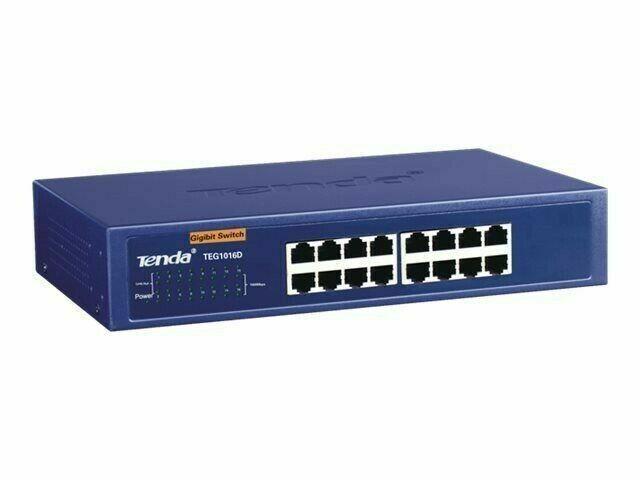 Tenda TEG1016D Switch nicht verwaltet