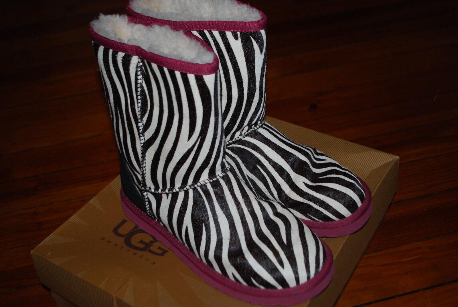 Women's Ugg Australia Exotic Zebra Hair Classic B… - image 7