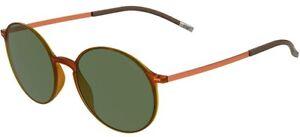 Silhouette URBAN SUN 4075 Orange/Green einzige Größe Unisex Sonnenbrillen