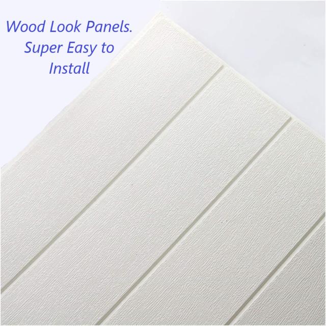 3m Wood Mosaic Tiles 3d Effect Sheet Self Adhesive Peel Stick Wallpaper H504 For Sale Online Ebay