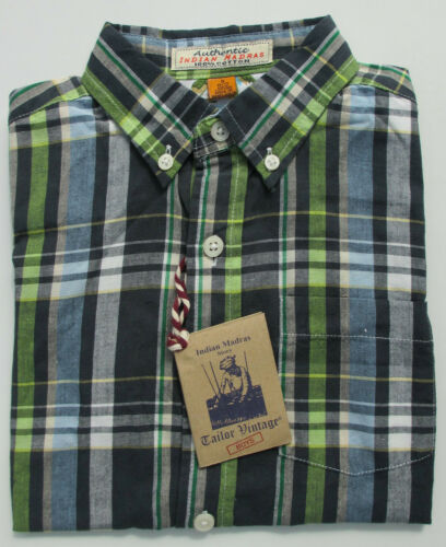 Boys Shirt Tailor Vintage Short Sleeve 100/% Cotton Blue Red Green Ages 4 to 10