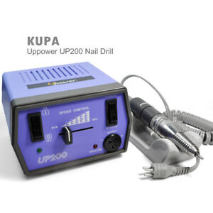Image Is Loading Kupa U Up200 Purple Nail Drill Electric Filing